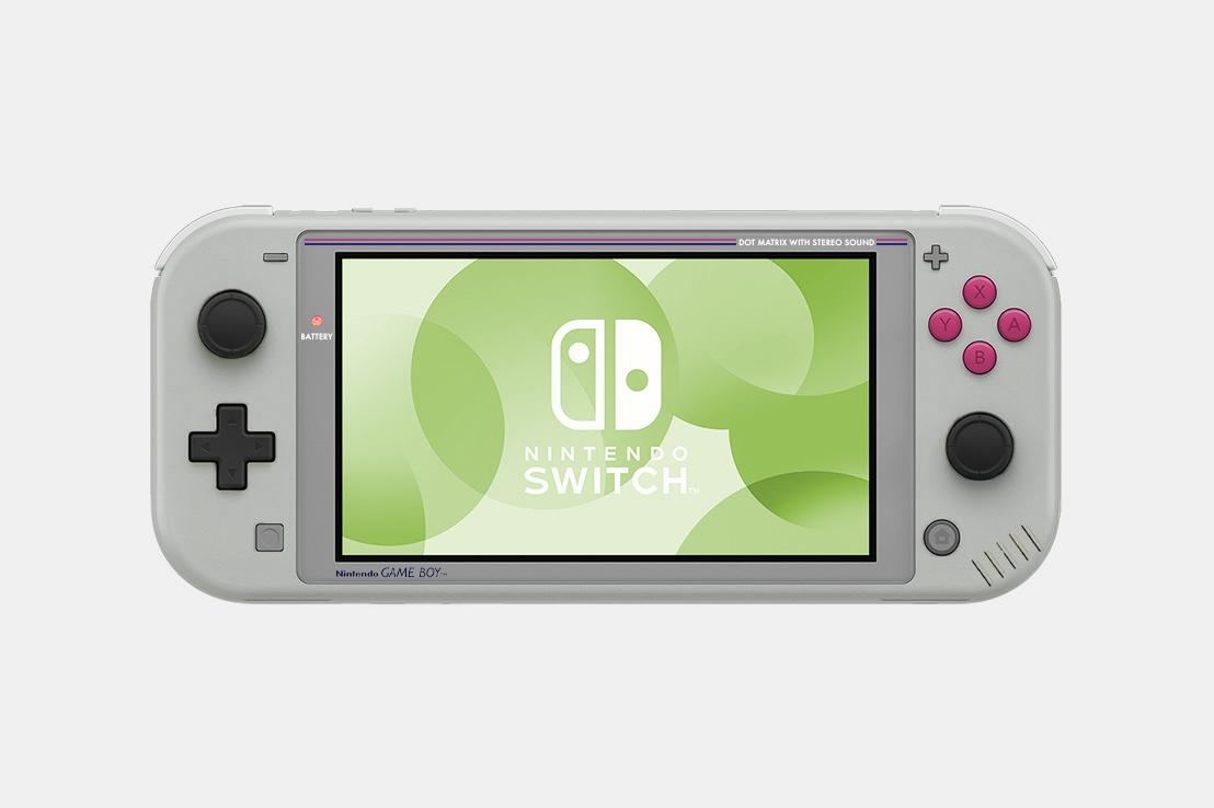 This is the Switch Lite special edition I want: long live the Game Boy Advance SP Classic screenshot