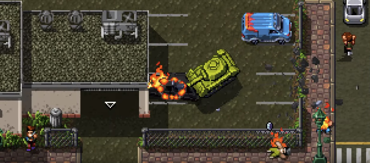 Shakedown: Hawaii's second major free update is live, and it has tanks screenshot