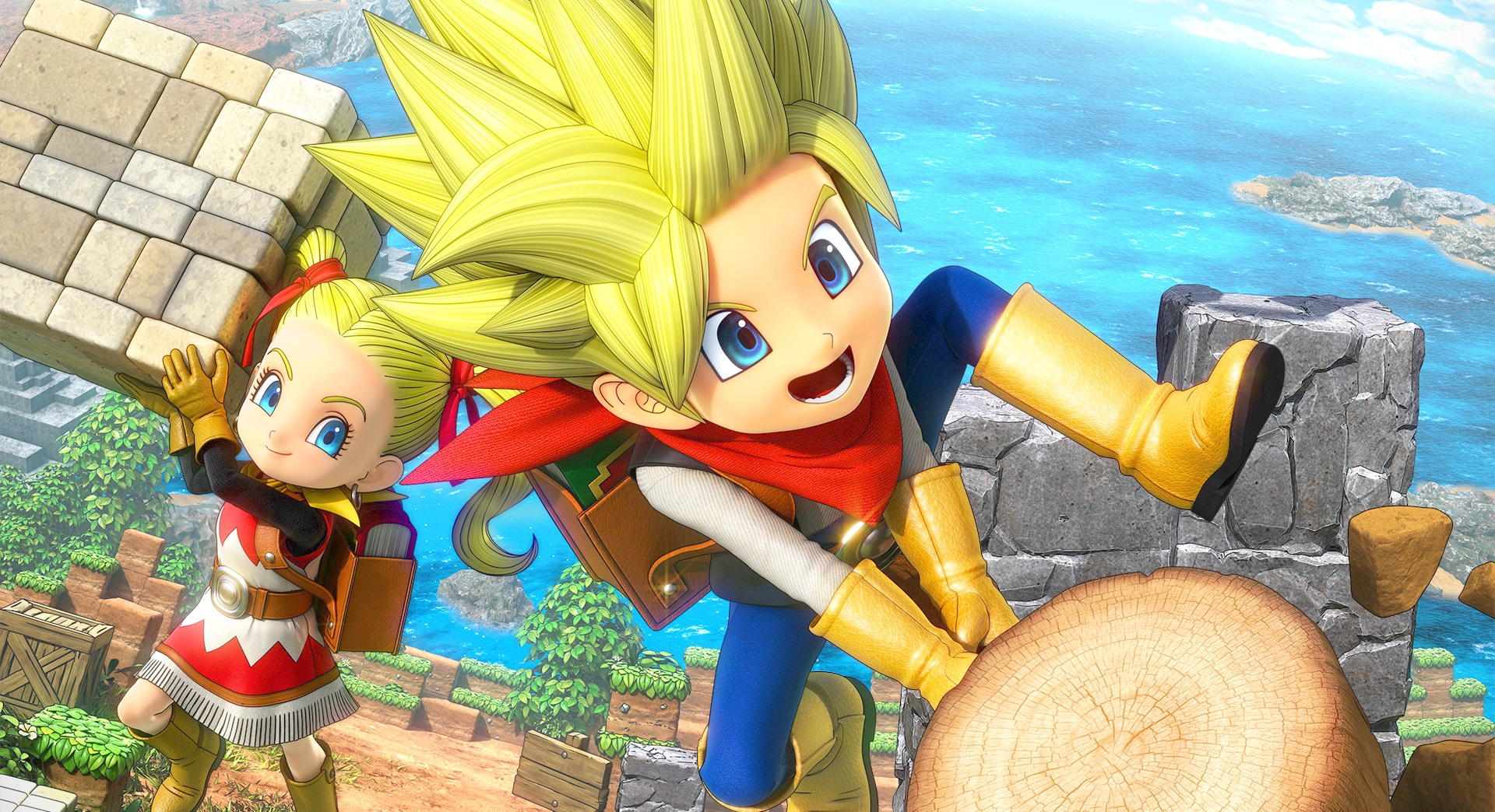 Nintendo Download: Dragon Quest Builders 2 screenshot