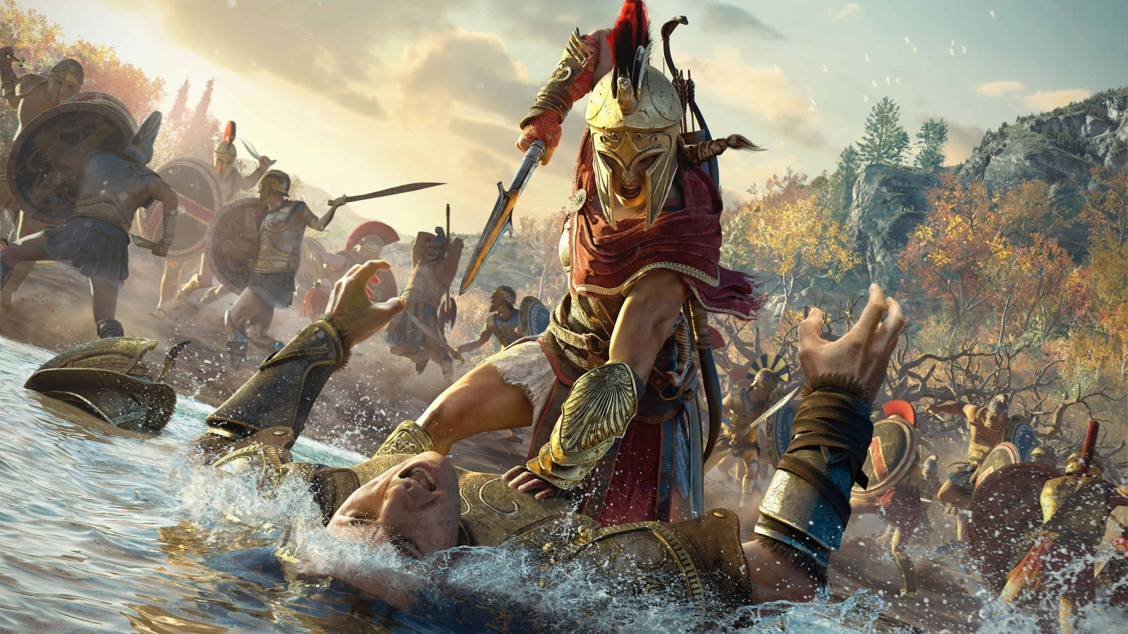Assassin's Creed Odyssey got a story creation mode, and players just used it to farm XP screenshot