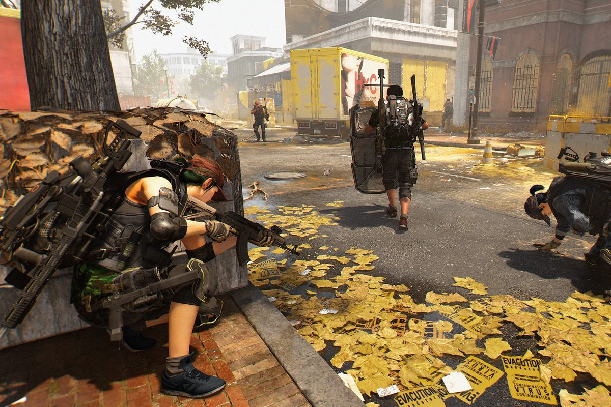 Division 2 boss muses on the idea of a single player Division entry screenshot