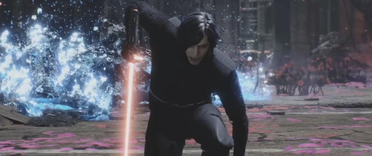 This Devil May Cry 5 mod makes V the Adam Driver look-alike he was always meant to be screenshot