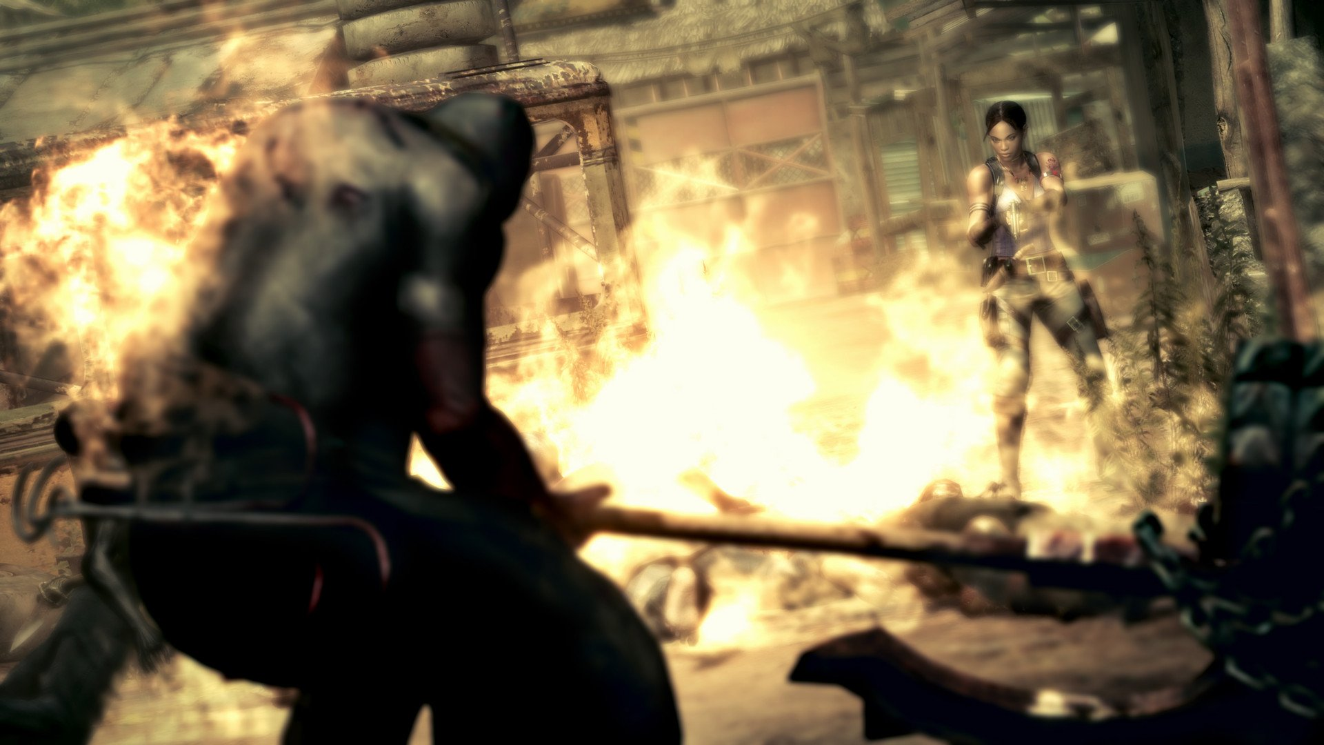 The Switch ports of Resident Evil 5 and 6 cost $30, arrive just in time for Halloween screenshot