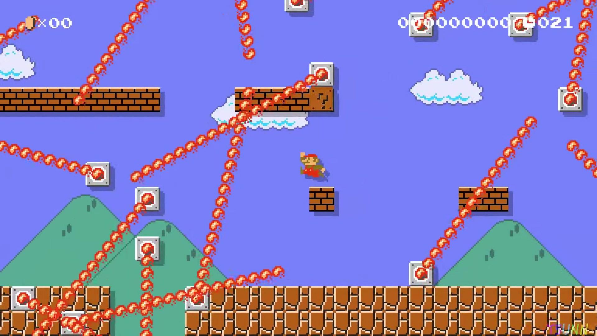 Super Mario Maker 2 level reimagines 1-1 for modern times screenshot