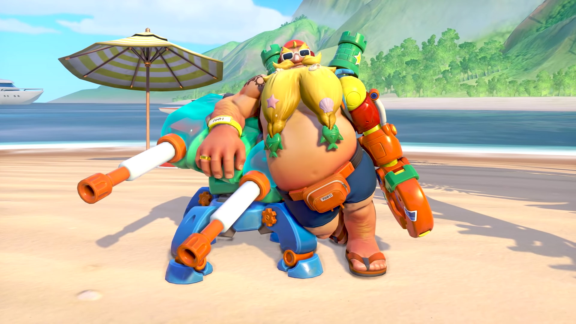 You can unlock Overwatch skins with the Summer Games weekly challenges screenshot
