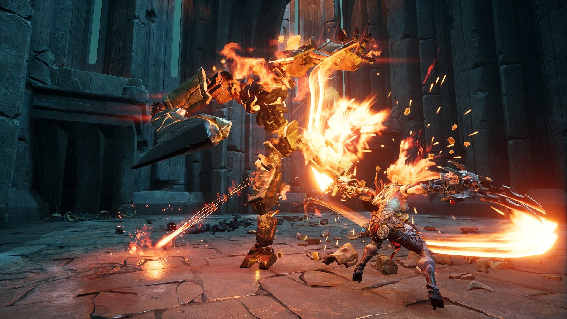 Darksiders III finally got its Abyssal Armor in today's Keepers of the Void add-on screenshot