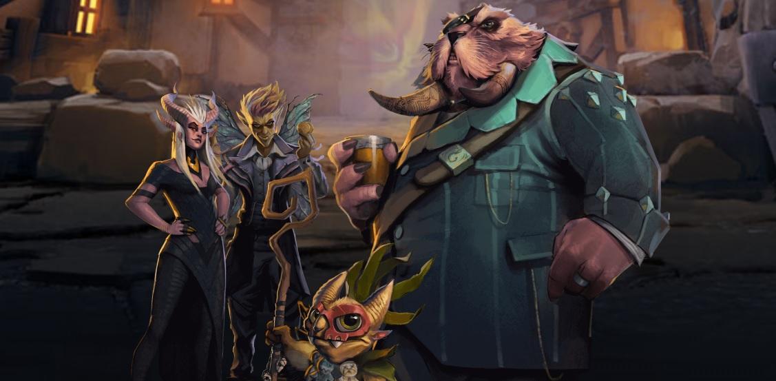 Dota Underlords, Valve's official Auto Chess game, is giving away its first battle pass for free screenshot