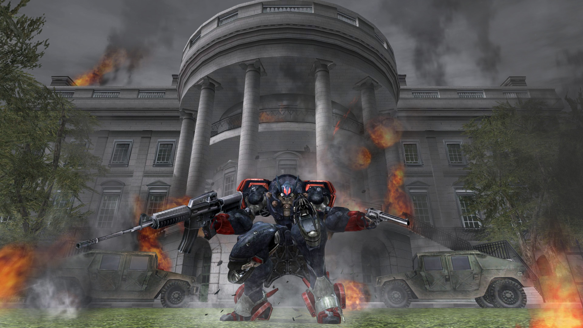 GameStop will be the exclusive retailer for PS4 physical copies of Metal Wolf Chaos XD screenshot