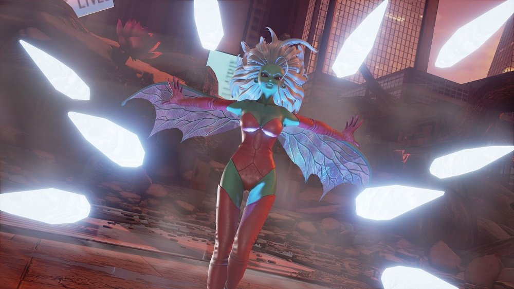 New Jump Force update expected to add villains Kane and Galena as playable characters screenshot