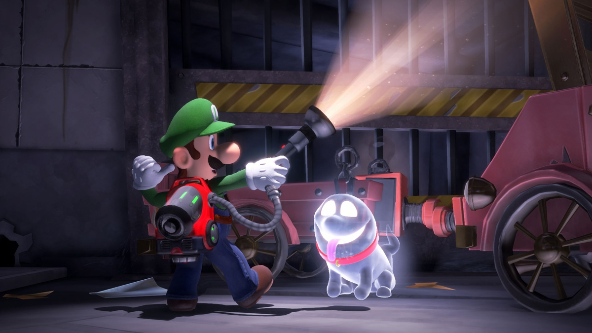 Luigi's Mansion 3 finally gets a release date and it's the spookiest day of the year screenshot