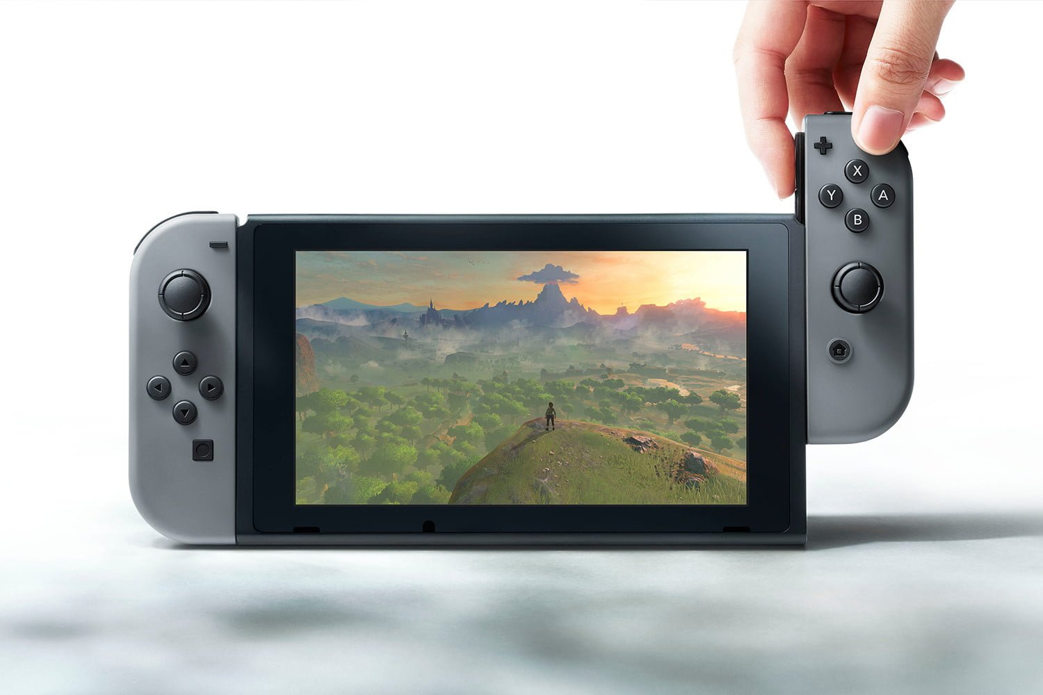 Nintendo officially announces improved base Switch model screenshot