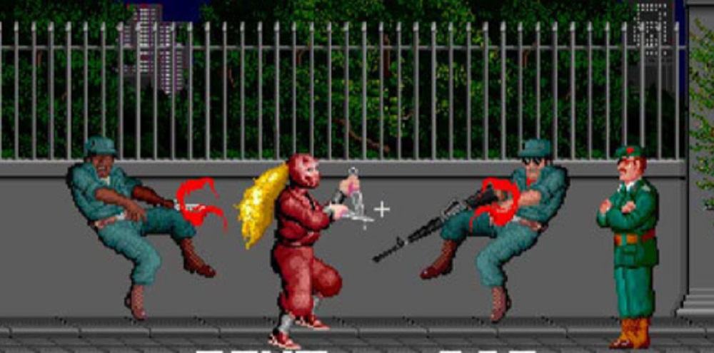 The original Ninja Warriors is back on Nintendo Switch screenshot