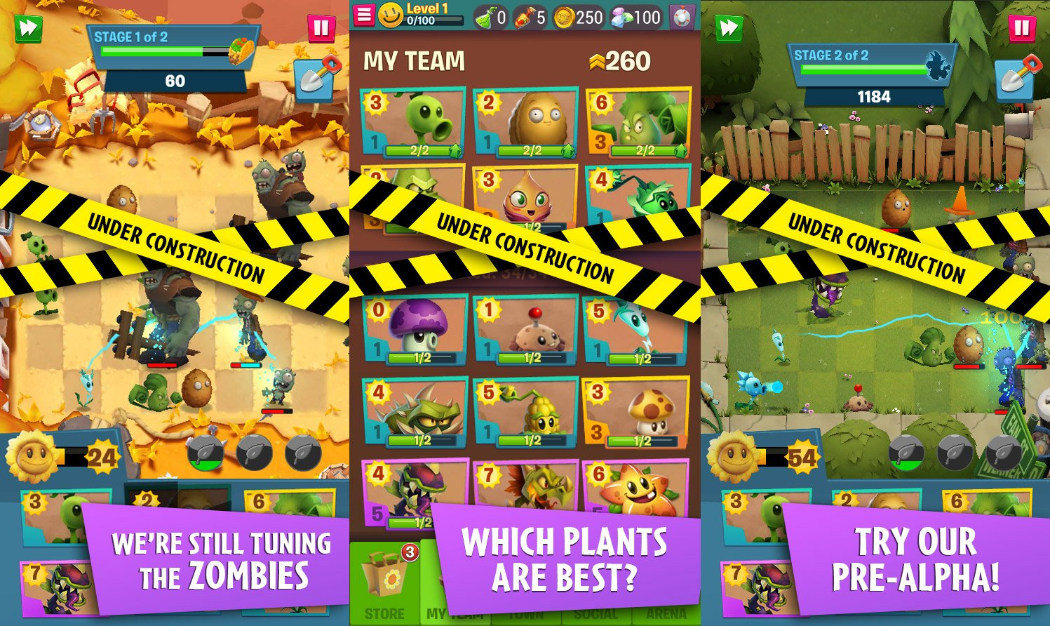 Here's our first real look at Plants vs  Zombies 3