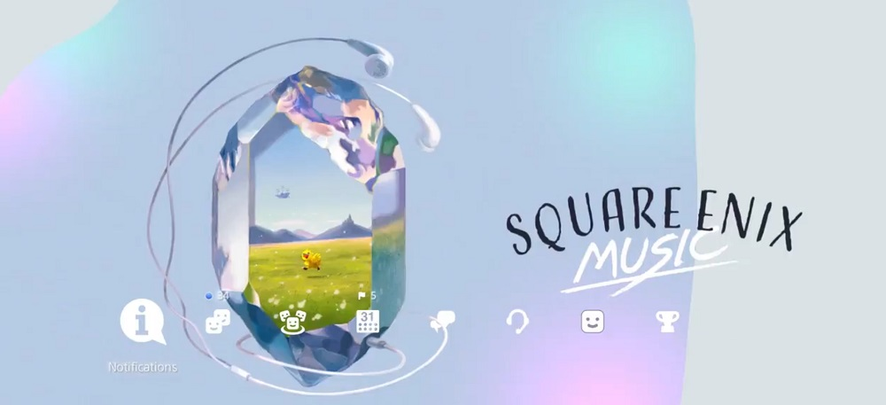 You can grab these free Square Enix music themes for your PS4 right now