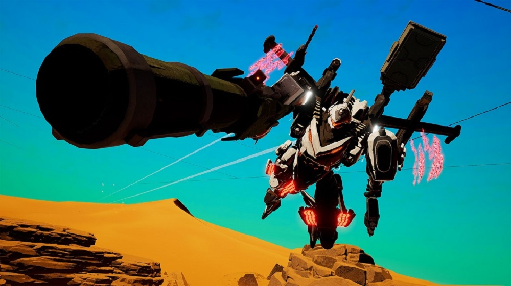 Daemon X Machina's latest trailer goes over customization and co-op screenshot