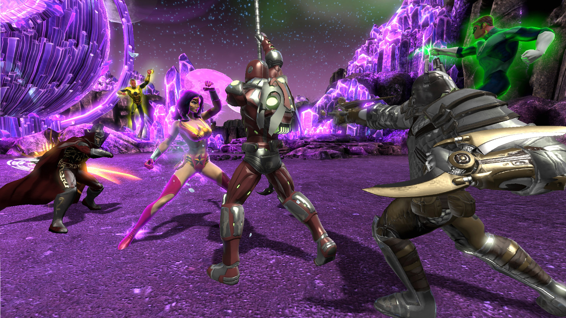 DC Universe Online for Switch won't have cross-play when it arrives on August 6