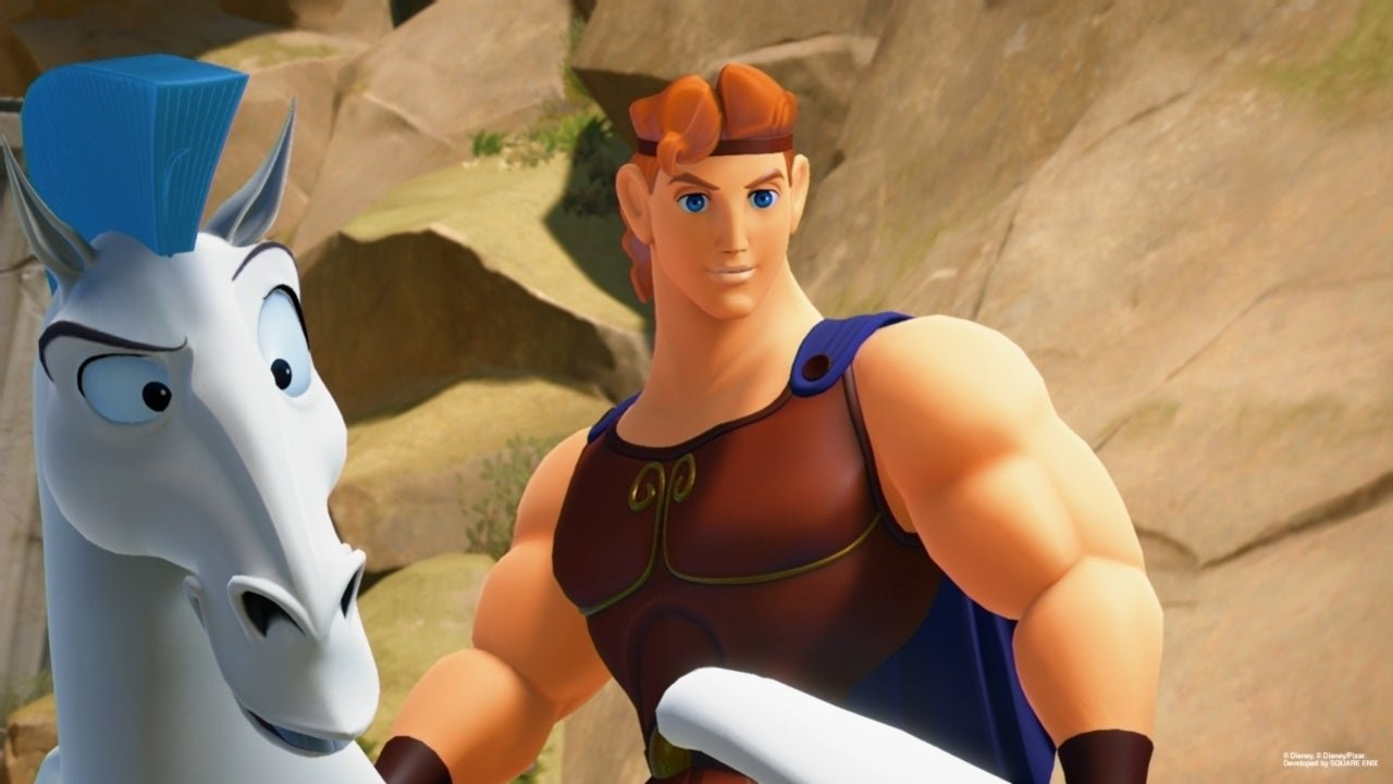 The Kingdom Hearts: VR Experience expands to Olympus next week screenshot