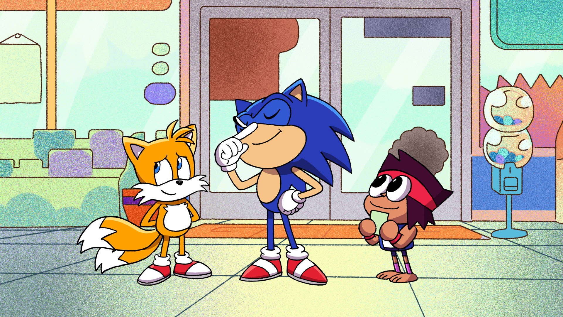 Sonic the Hedgehog is getting his own episode of OK K.O! Let's Be Heroes screenshot