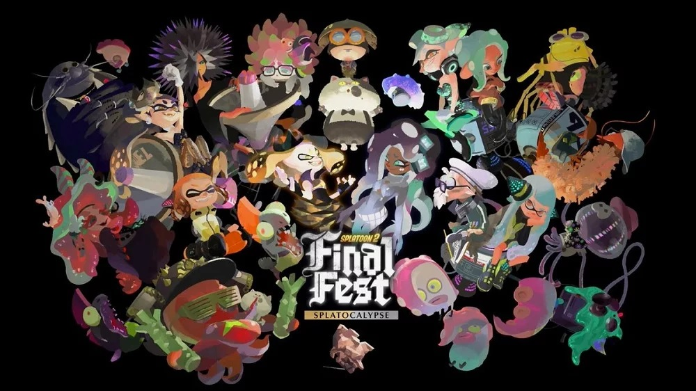 The ink has dried: The final Splatoon 2 splatfest has come to an end screenshot