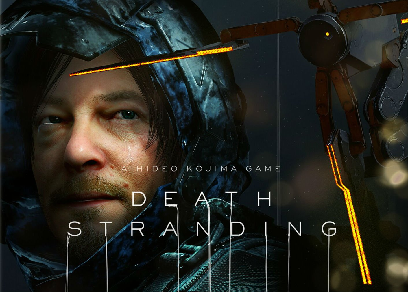 Death Stranding's box art keeps the Kojima/Norman Reedus bromance alive screenshot
