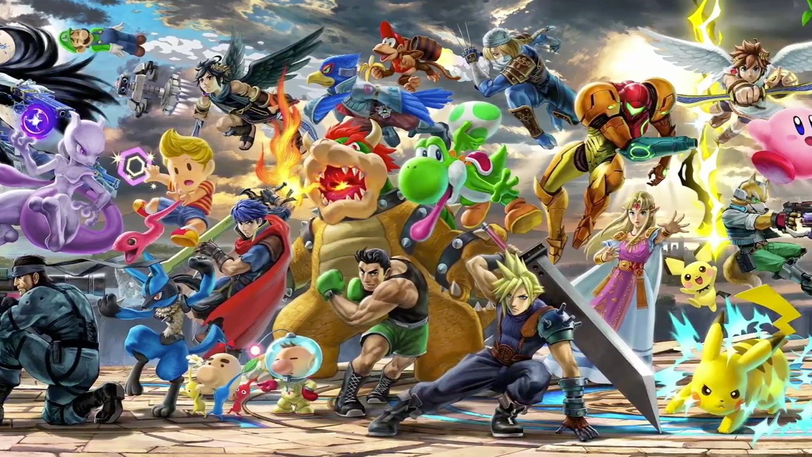 Smash Bros. Ultimate is gonna headline Evo this year