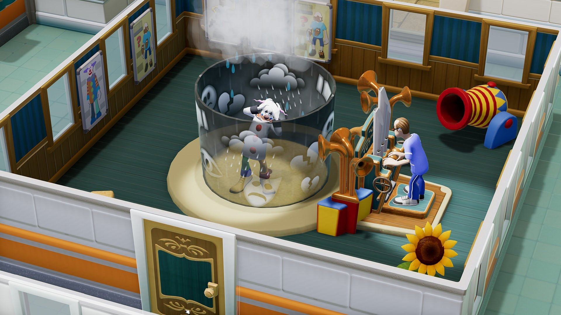 Two Point Hospital is making the jump to consoles later this year screenshot