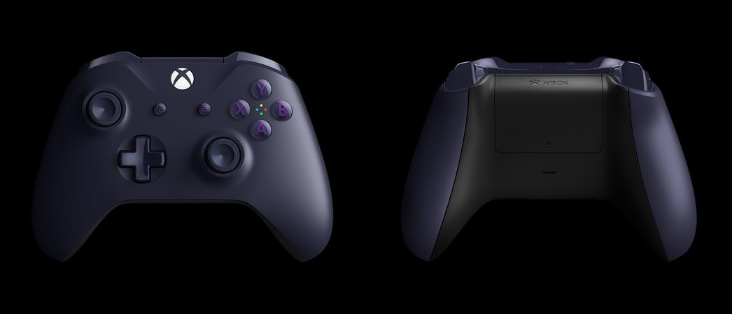This purple Xbox One controller sure is sick screenshot