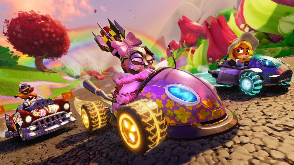 Crash Team Racing drifts back into first place in the UK Charts screenshot
