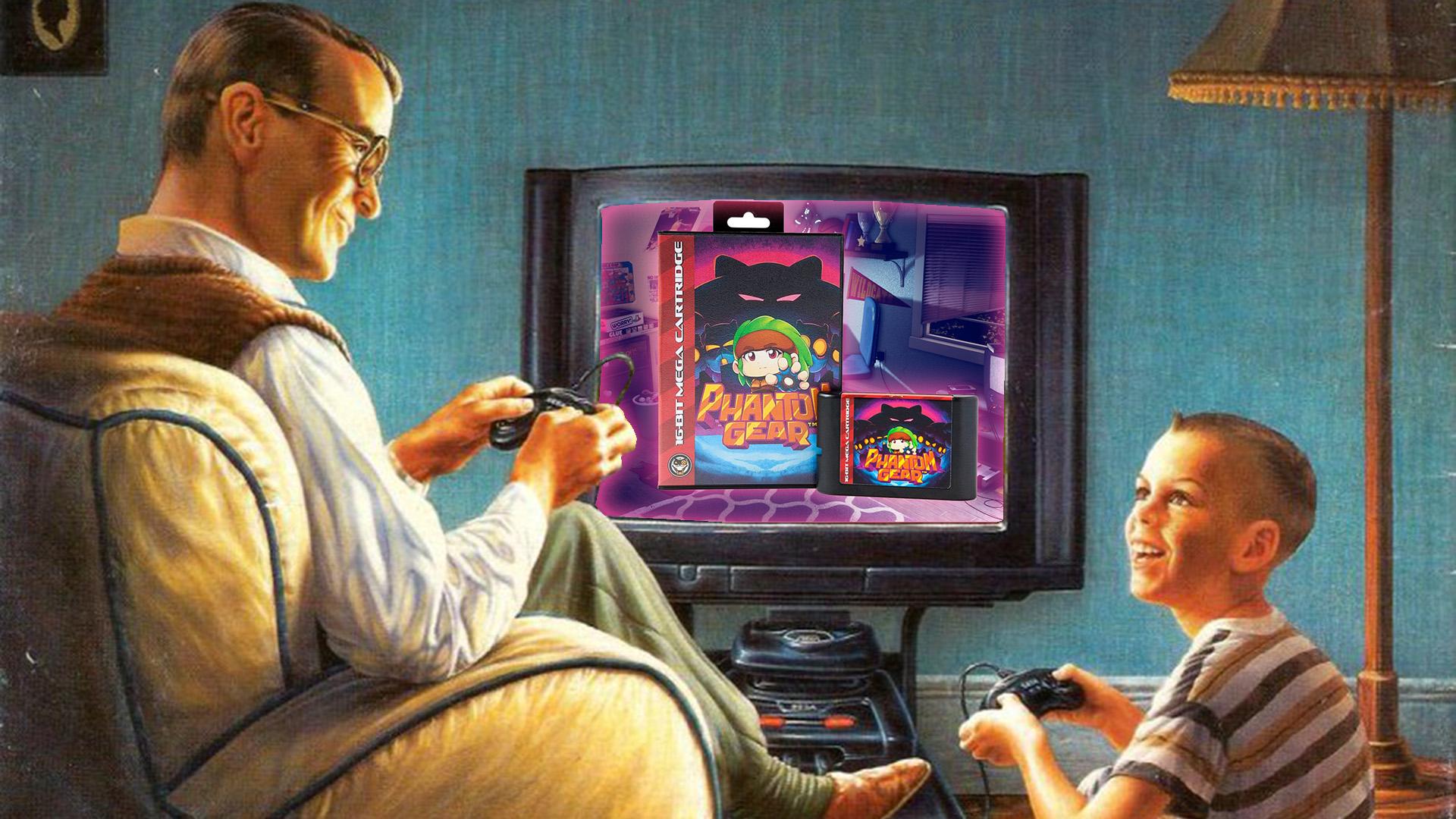 Contest: Win a physical Sega Genesis cartridge of Mega Cat Studios' Phantom Gear screenshot