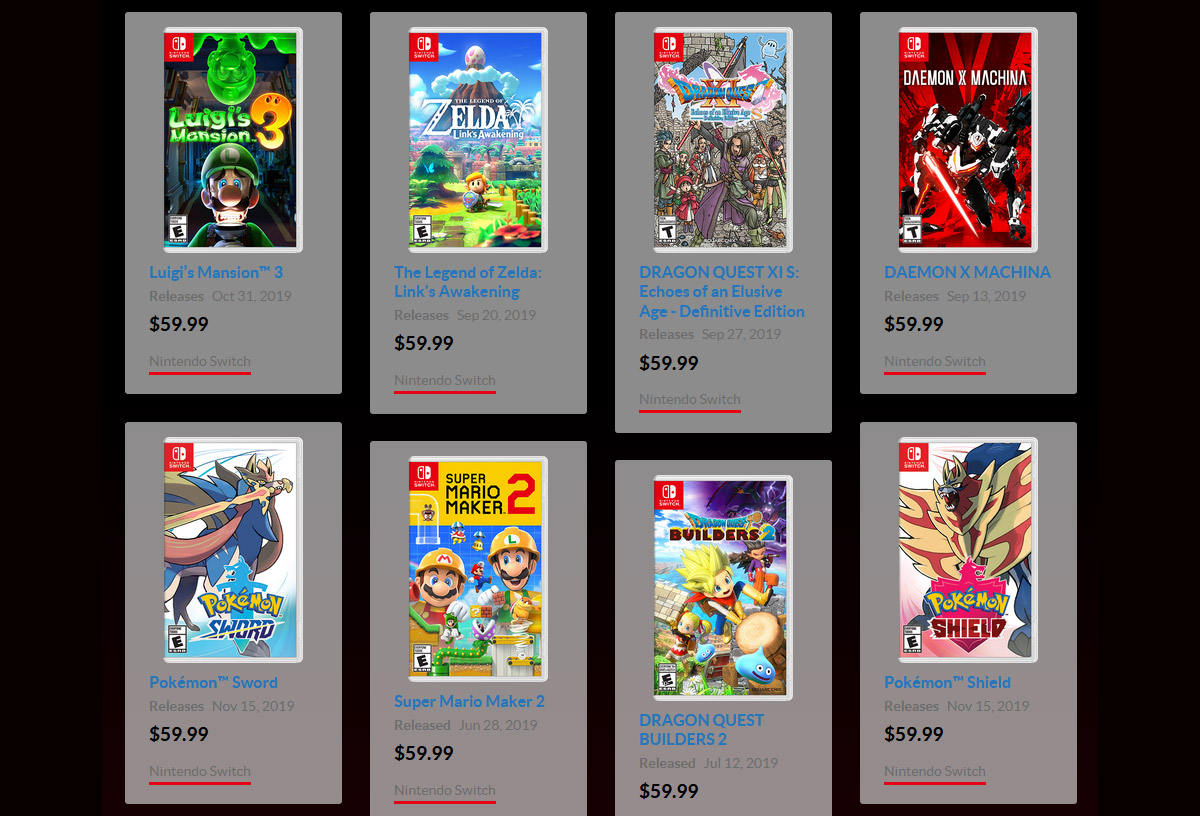 It's the last week to get Nintendo Switch Game Vouchers