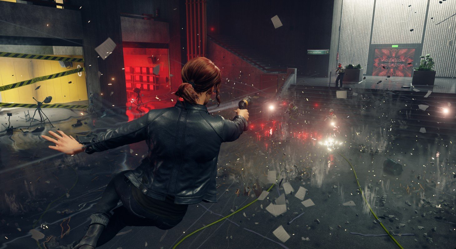 Even with this story trailer, I still have no idea what Control is about screenshot