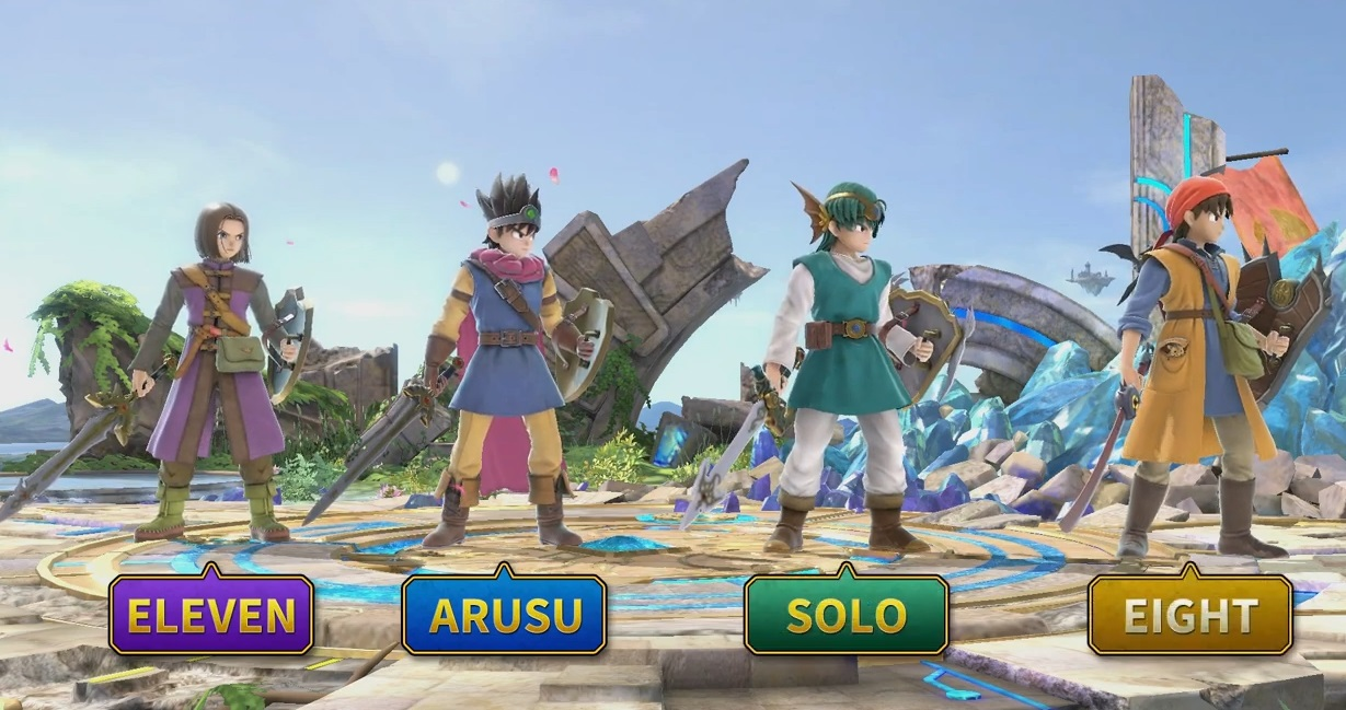 Surprise! Dragon Quest's Hero joins the Smash Ultimate roster today screenshot