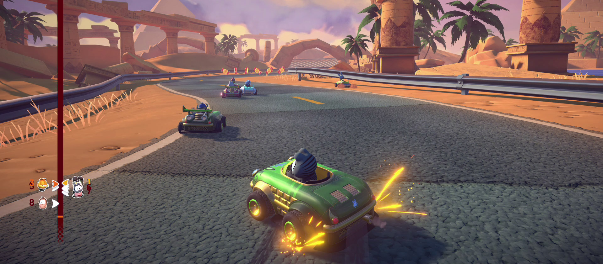 Garfield Kart Furious Racing Is Fine And All But When Are We Getting A Horror Game