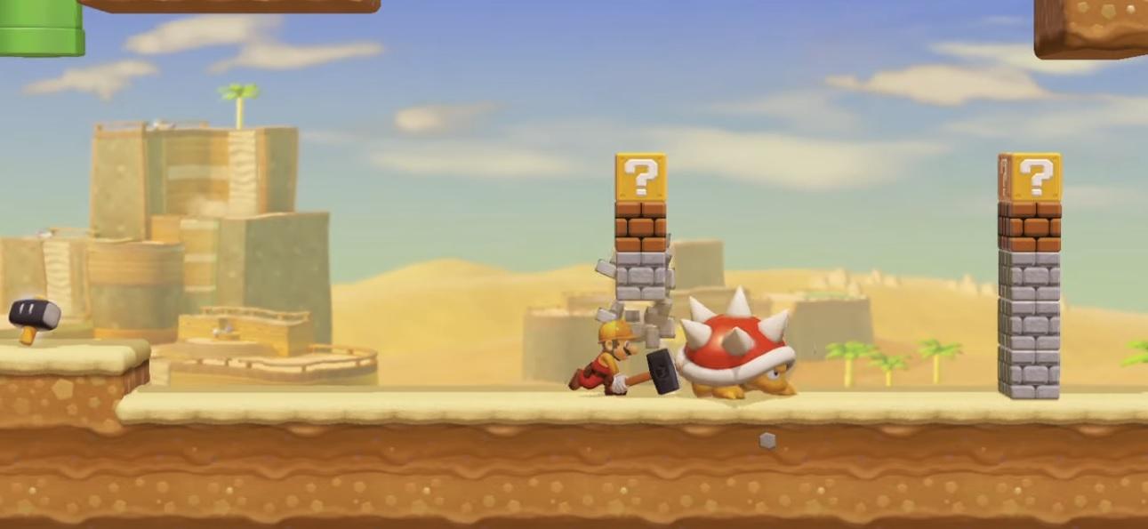 Super Mario Maker 2 hits four million level mark, Nintendo celebrates with an official creation screenshot