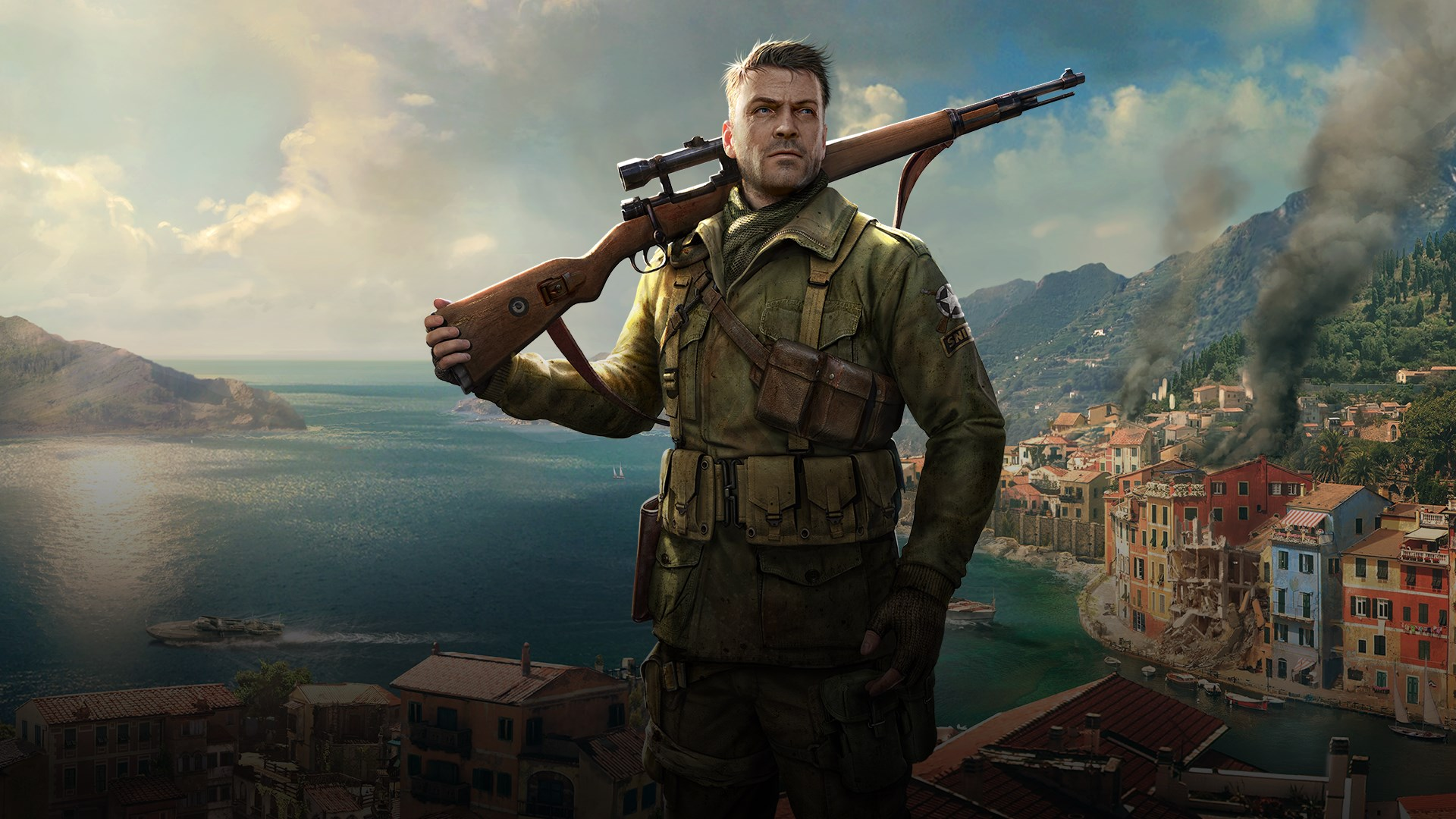 August's PS Plus selection sees Nazi sniping and futuristic racing screenshot