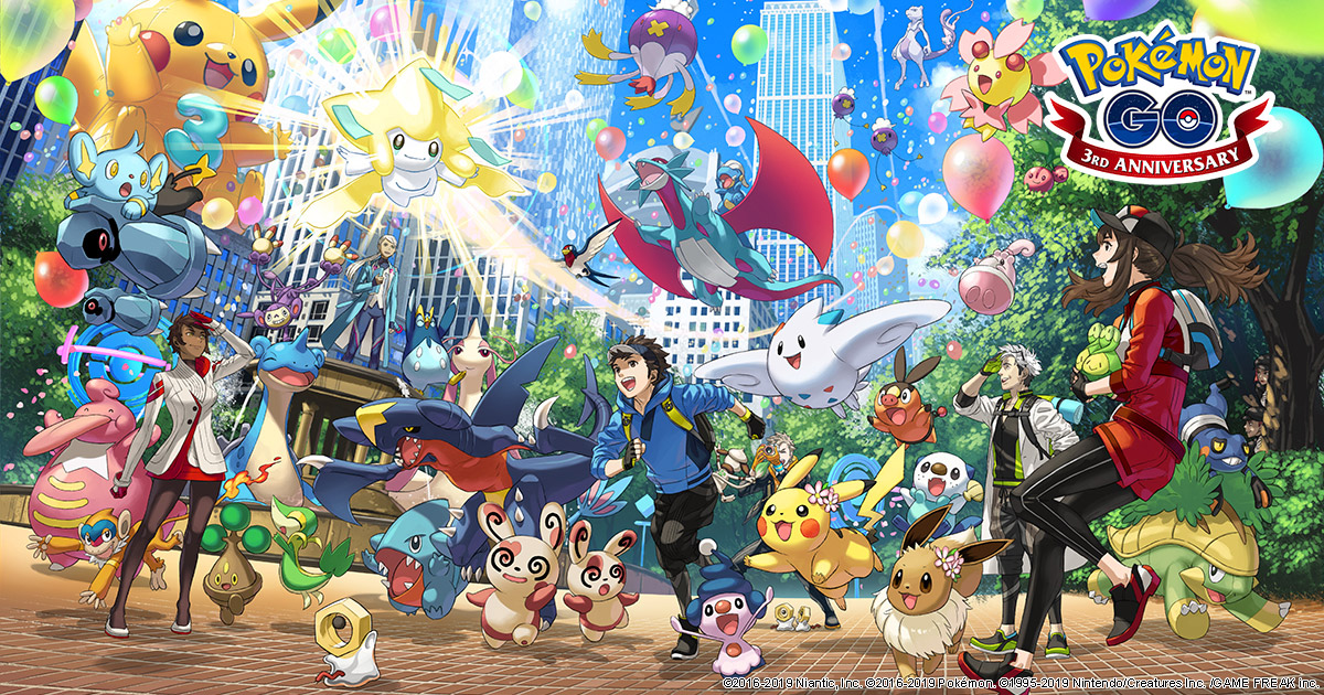 Pokemon Go has a new milestone: One billion downloads screenshot