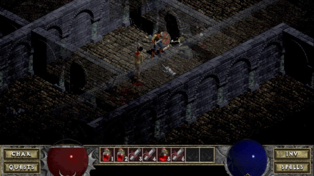 The original Diablo is now playable in shareware form (remember that concept?) in your browser