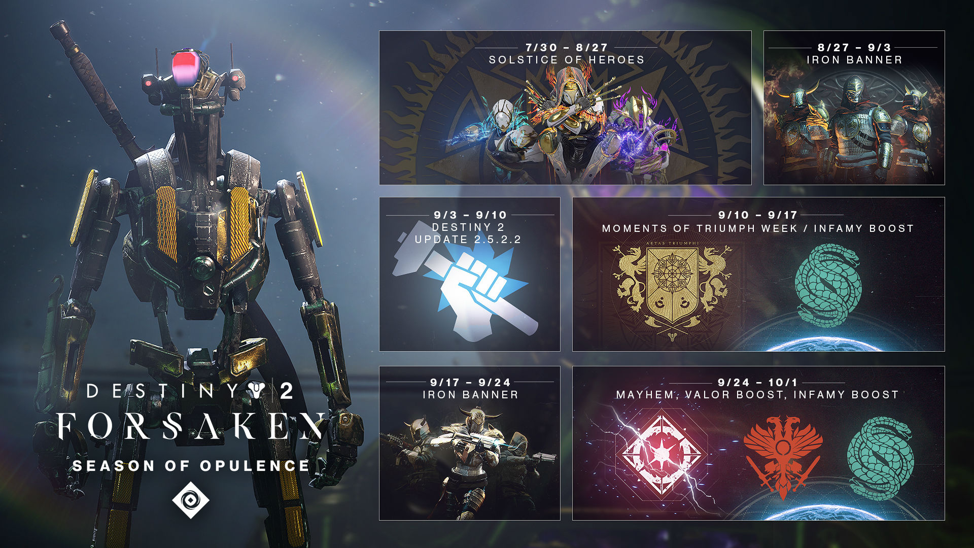 Bungie shares Destiny 2 plans from now until the (delayed