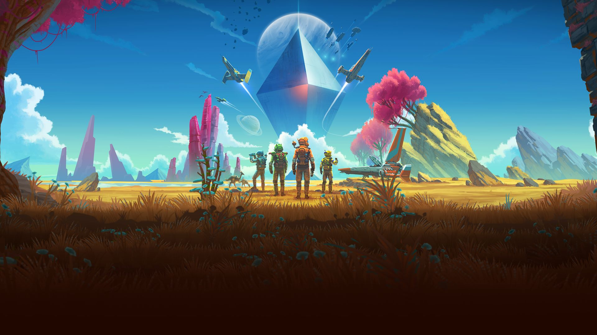No Man's Sky's Beyond update adds MMO-like features and VR support later this month screenshot