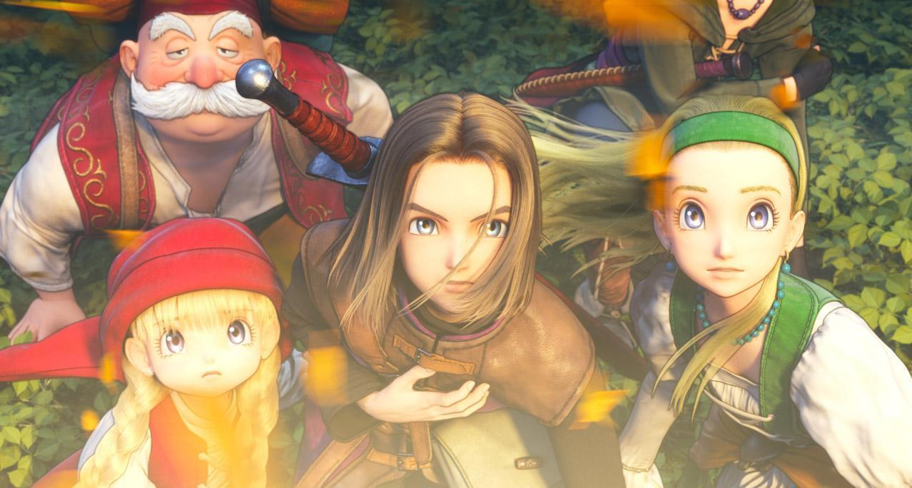 Dragon Quest XI Switch to get a demo with save transfer screenshot
