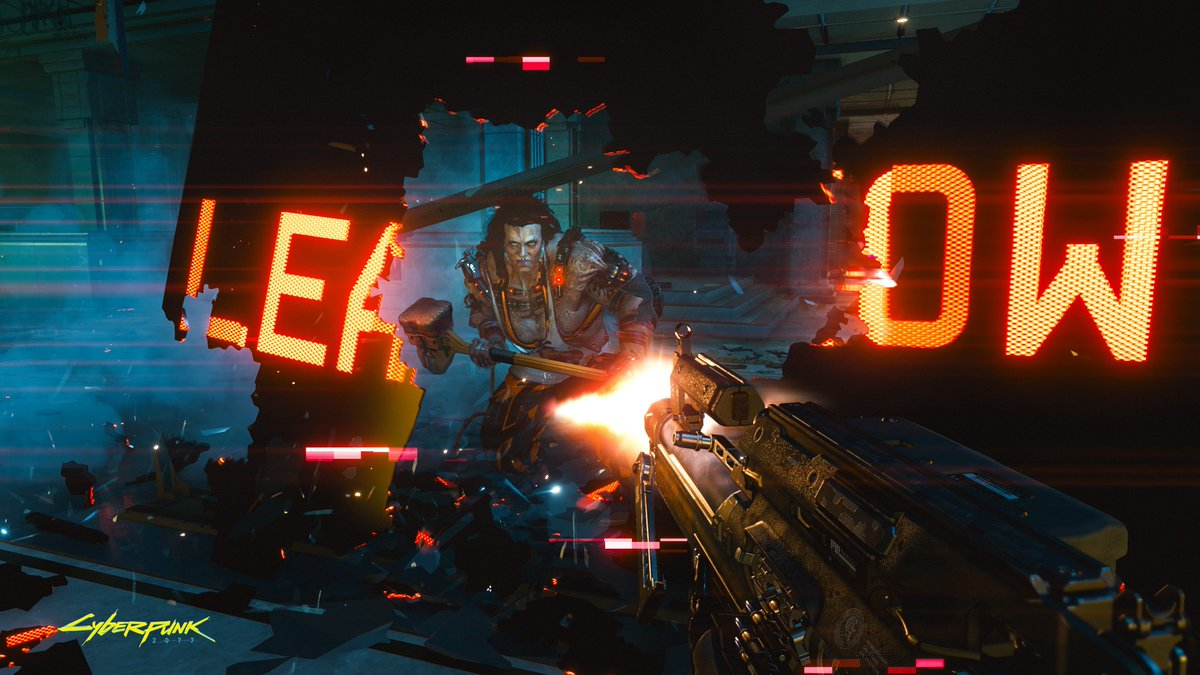 Cyberpunk 2077 keeps the dystopia rolling with a New Game+ screenshot