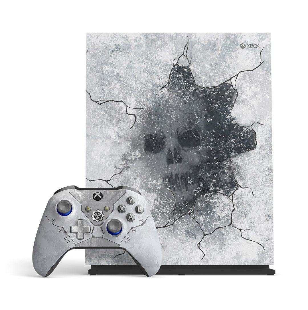 Gears 5 is landing a limited-edition Xbox One X bundle – Destructoid