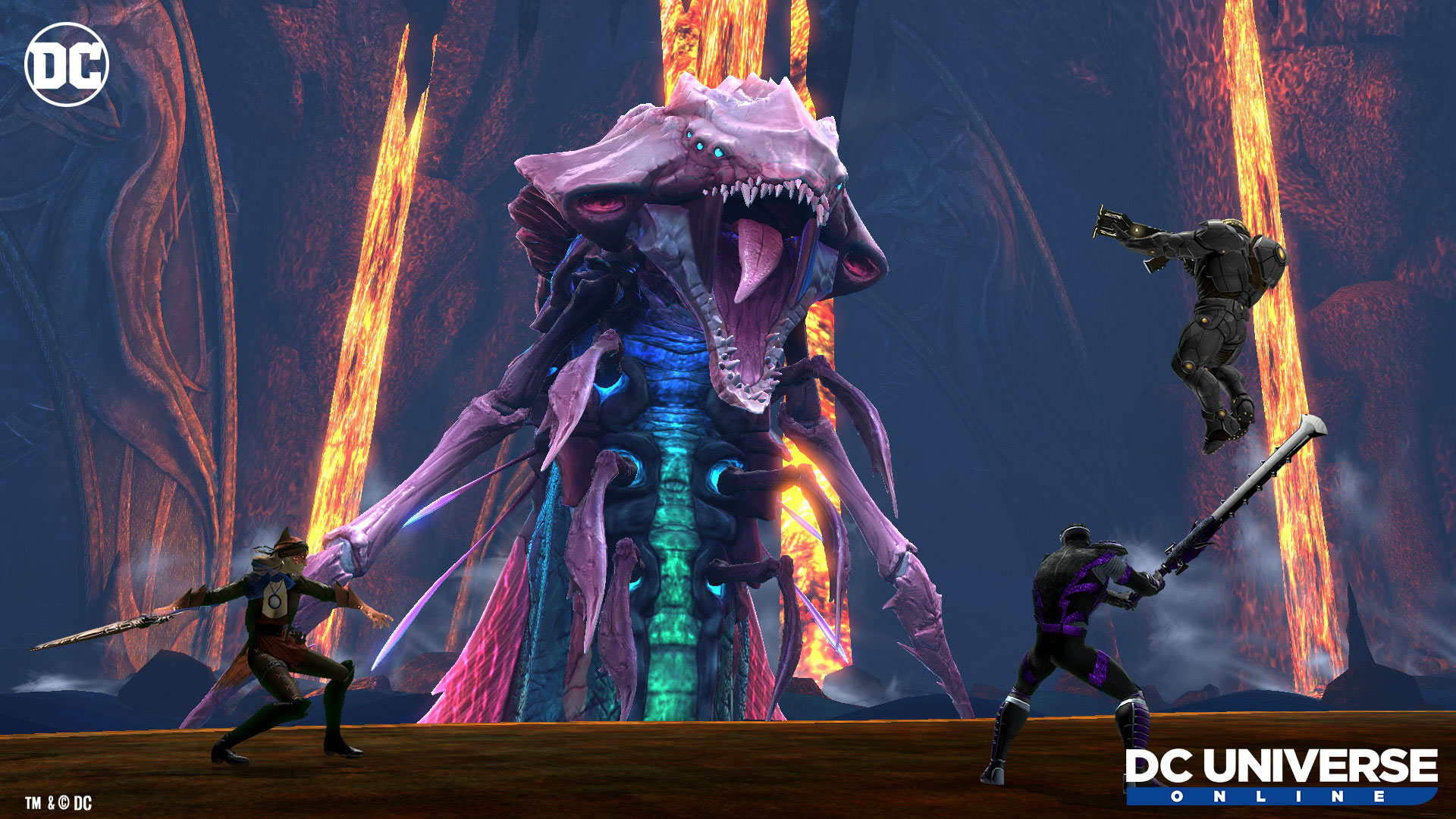 DC Universe Online launches on Switch today screenshot