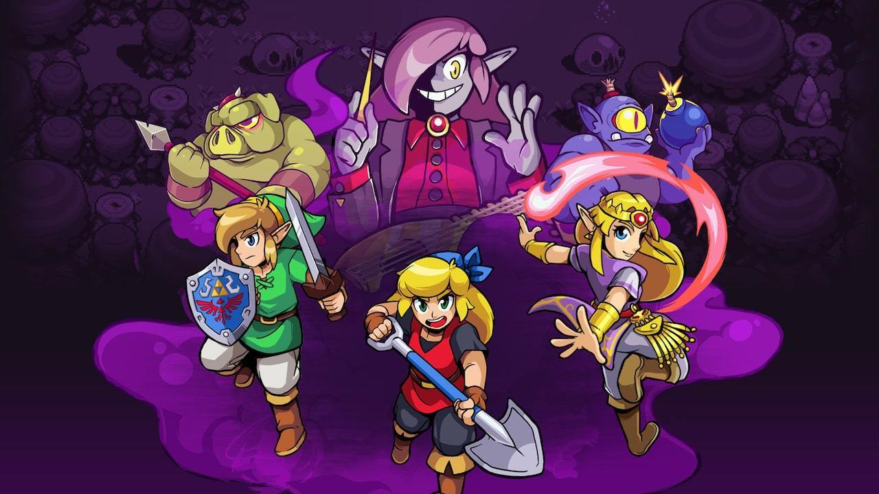 Cadence of Hyrule gets special Switch achievements, beat rumble controller toggle screenshot