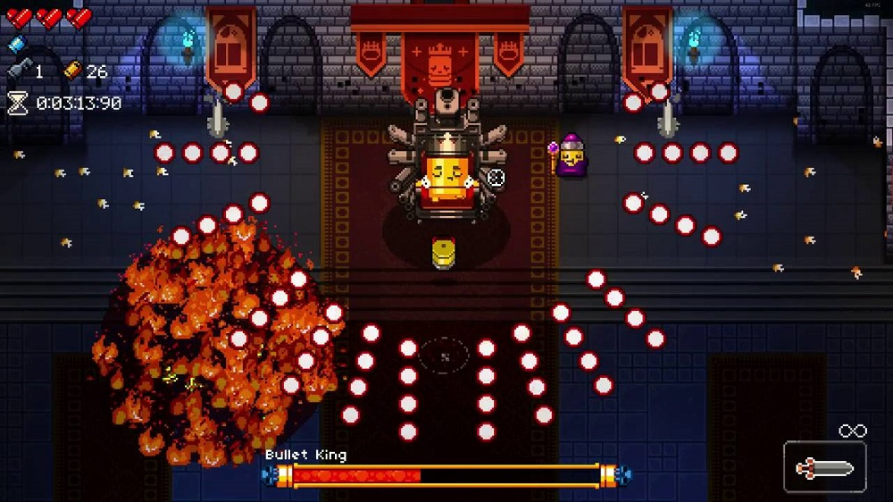 Enter The Gungeon physical release now available for Nintendo Switch