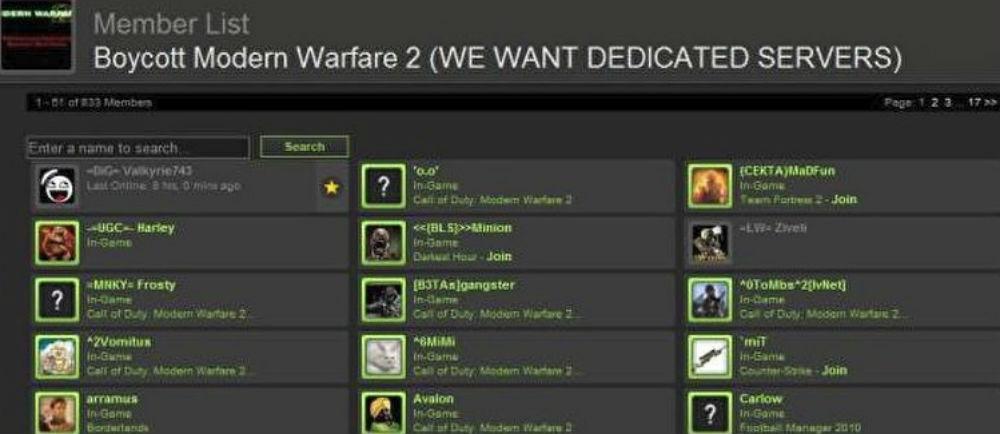 Call of Duty: Modern Warfare has dedicated servers to go with its full cross-play program screenshot