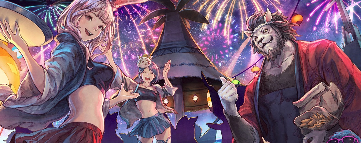 Final Fantasy XIV brings the Moonfire Faire back this month screenshot