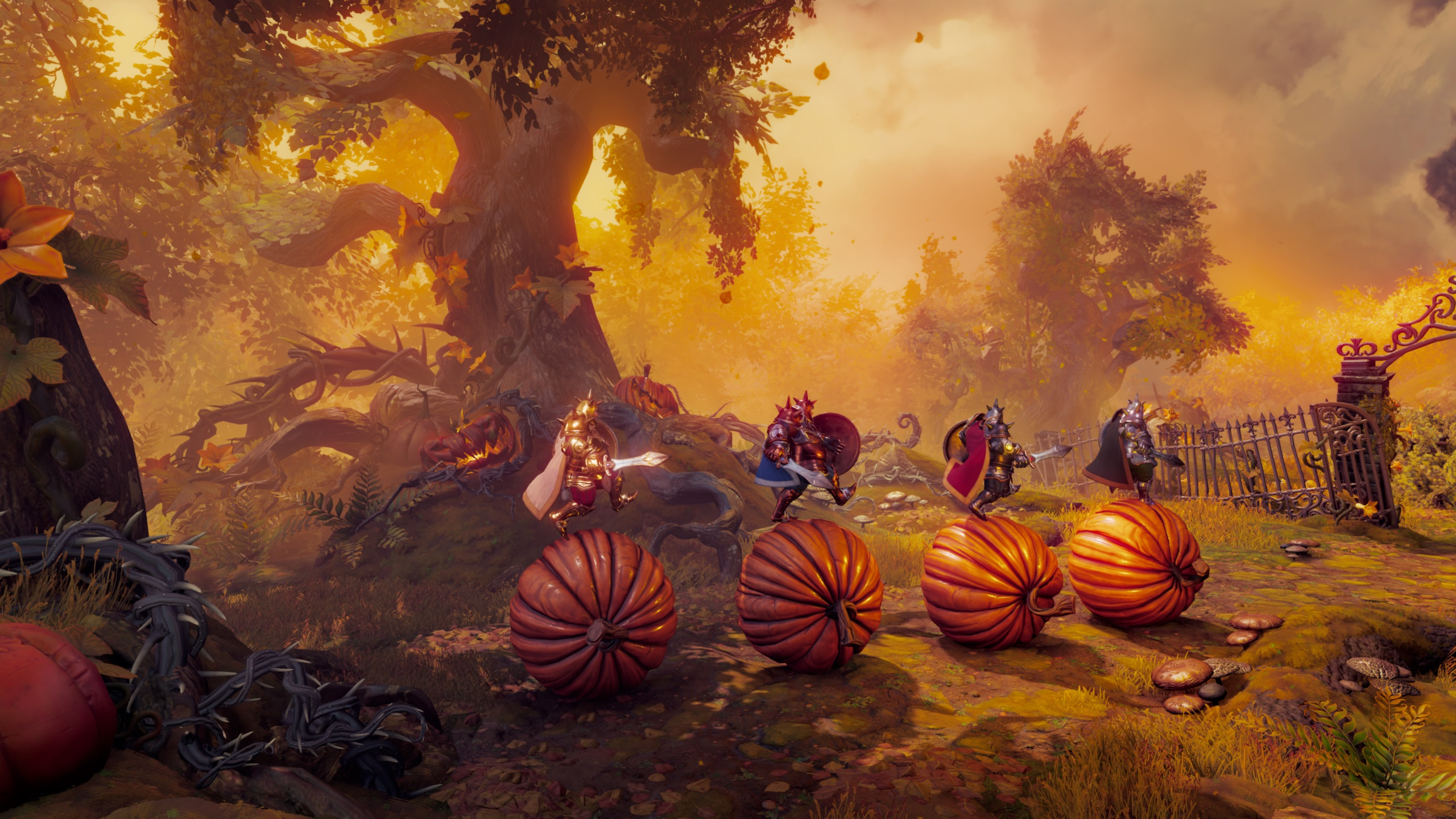 Trine 4 is all set for an October launch screenshot
