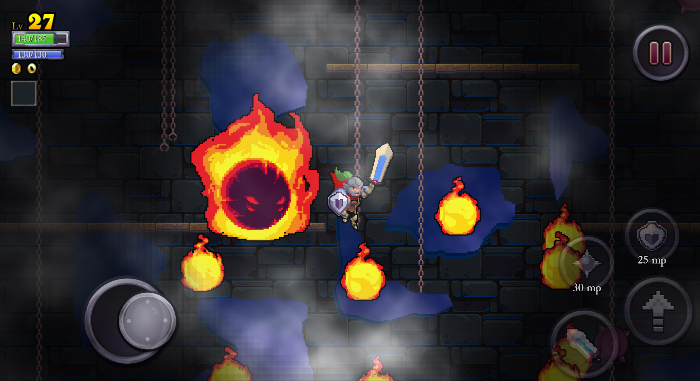 Rogue Legacy is now on iOS and it's only a dollar screenshot