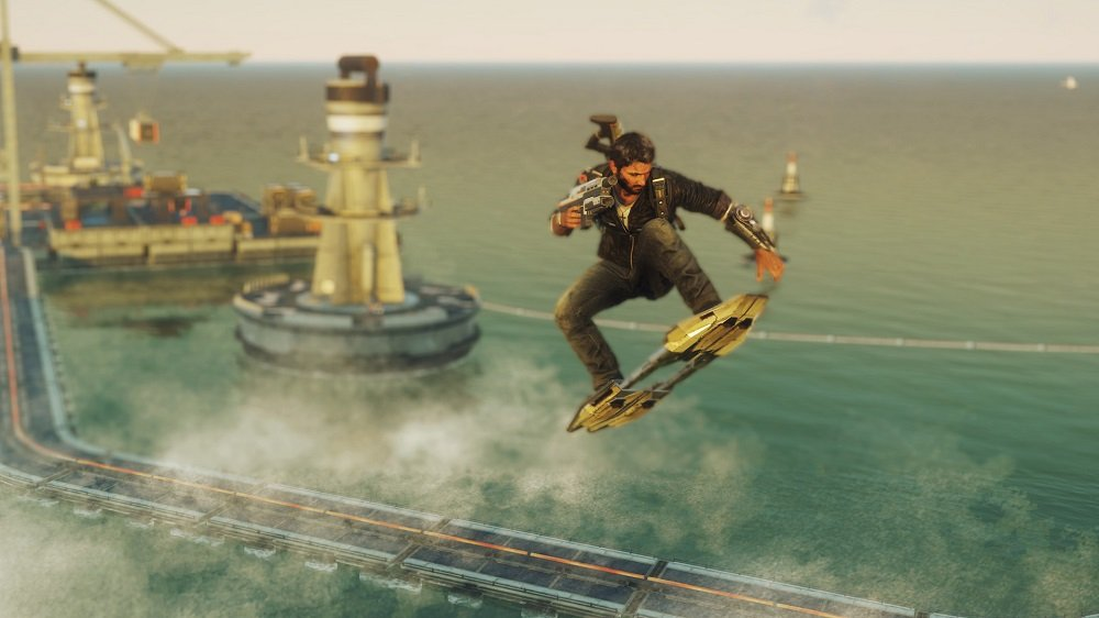 Just Cause 4 bringing in hoverboards for final DLC 'Danger Rising' screenshot